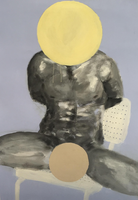 GERALD WARHAFTIG   Shame   vinyl-based paint