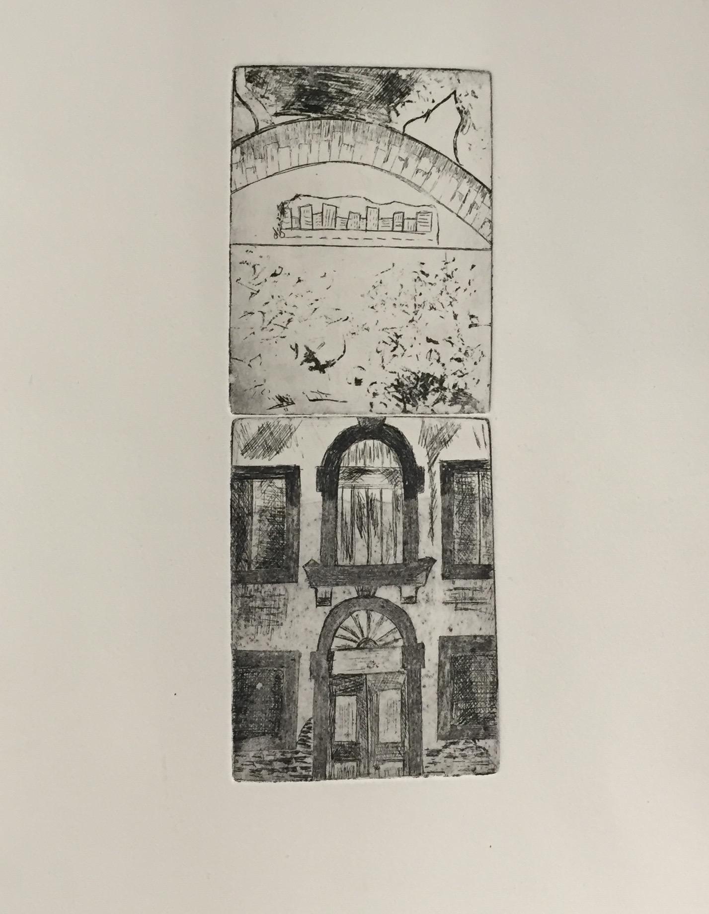 SARA SHIFFRIN   Untitled 1   etching, aquatint