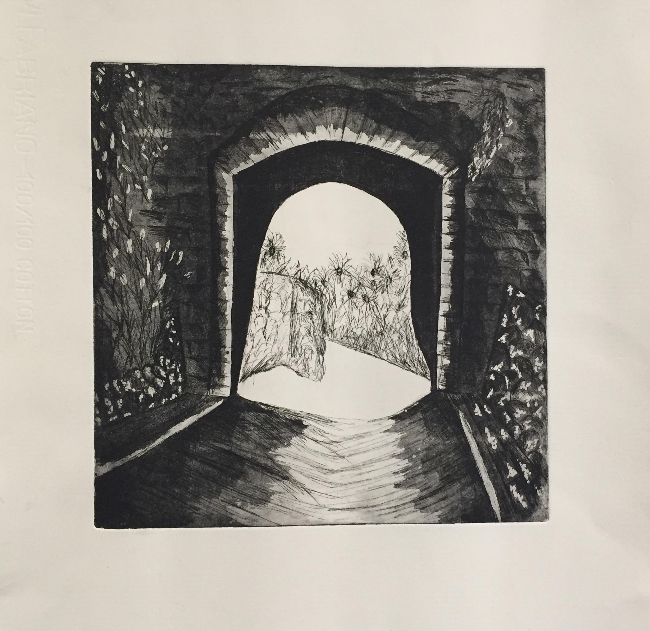 SARA SHIFFRIN   Untitled 2   etching, aquatint