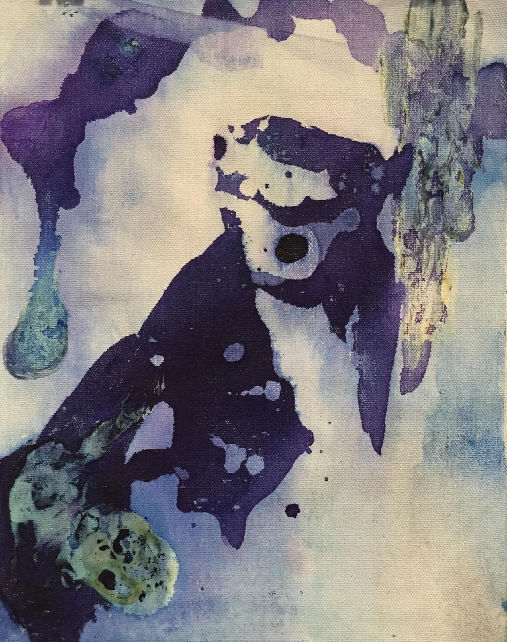 ADAM MCGOWAN   Untitled   oil and gouache on canvas