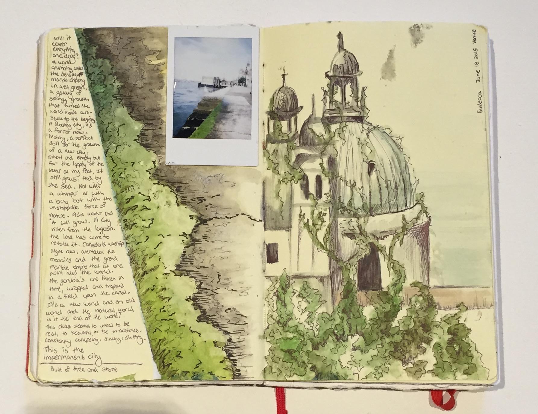 MALLORY ZONDAG   sketchbook   watercolor, mixed media