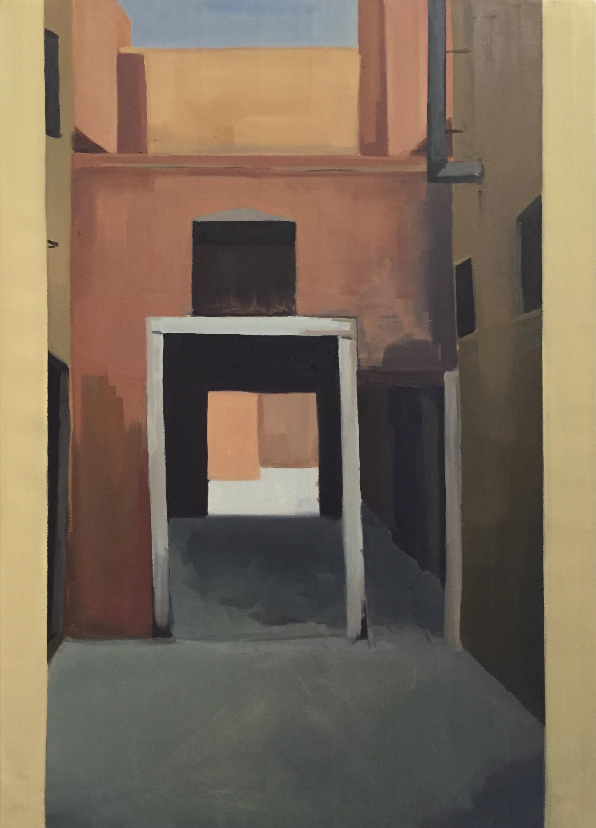 JESSICA JONES Alleyway oil on canvas