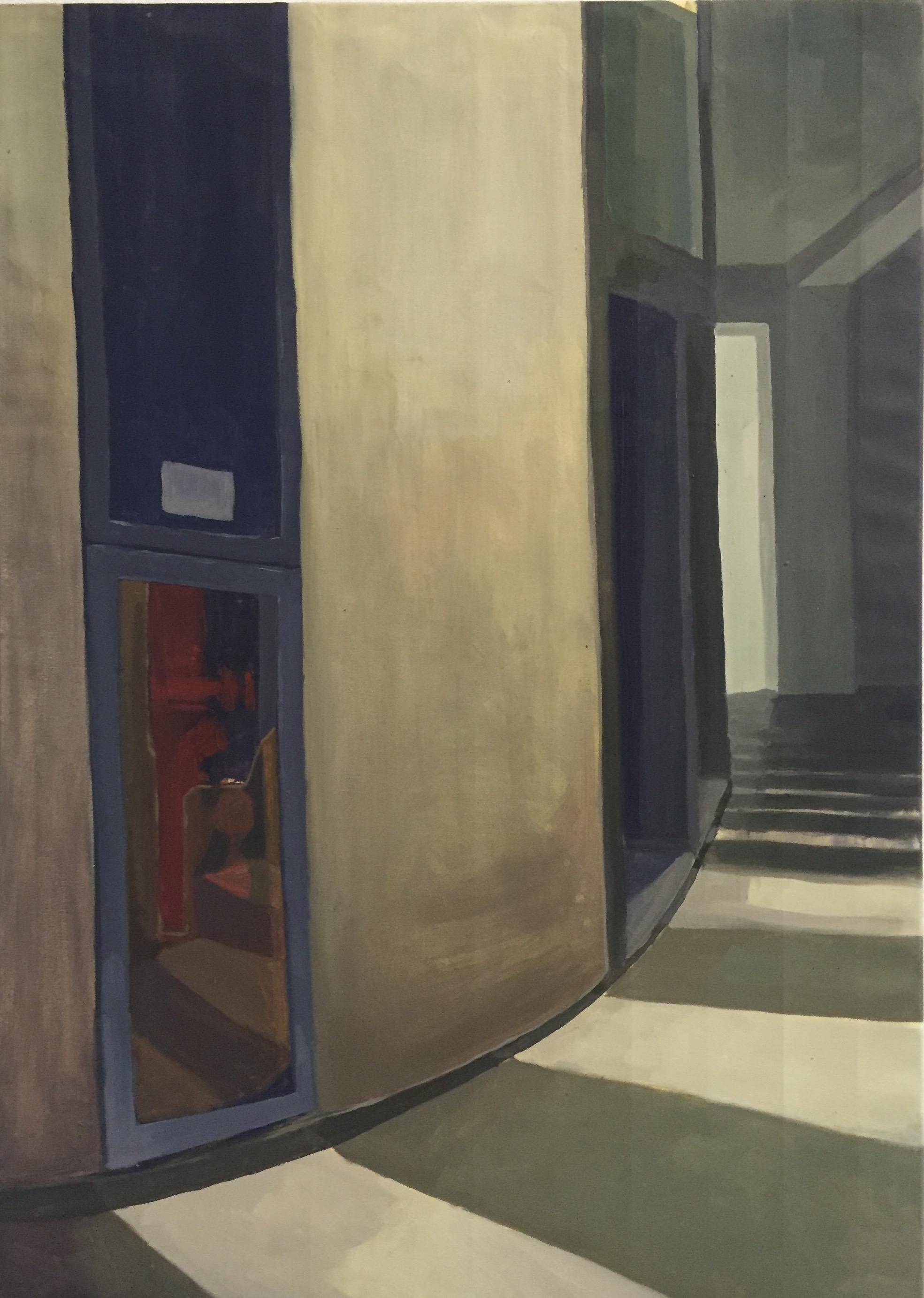 JESSICA JONES   Here   oil on canvas