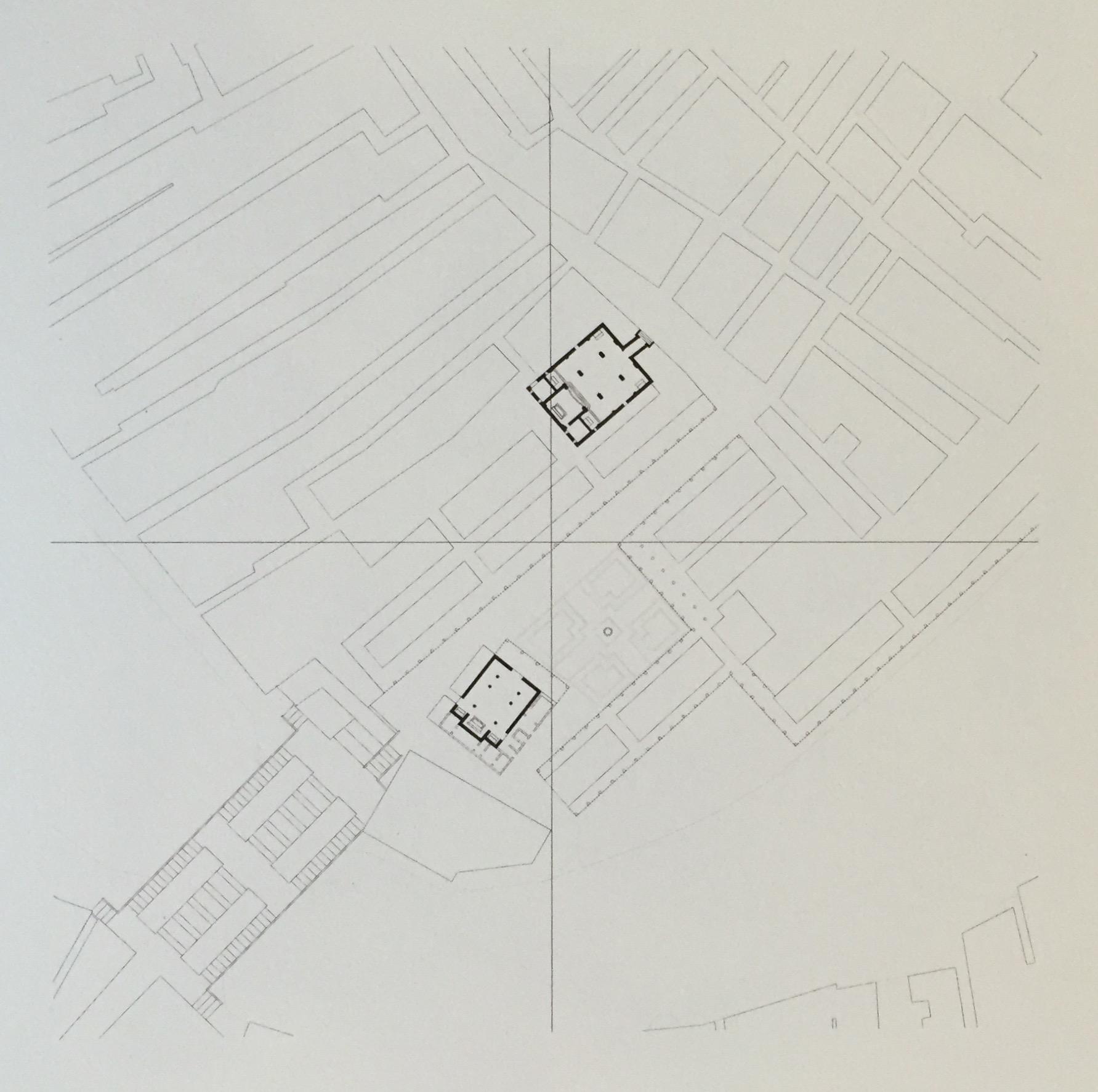 MARGARET MATZ   San Giacomo in Rialto andSan Giovanni Elemosinario   14th Century CE (void)   digital print on paper