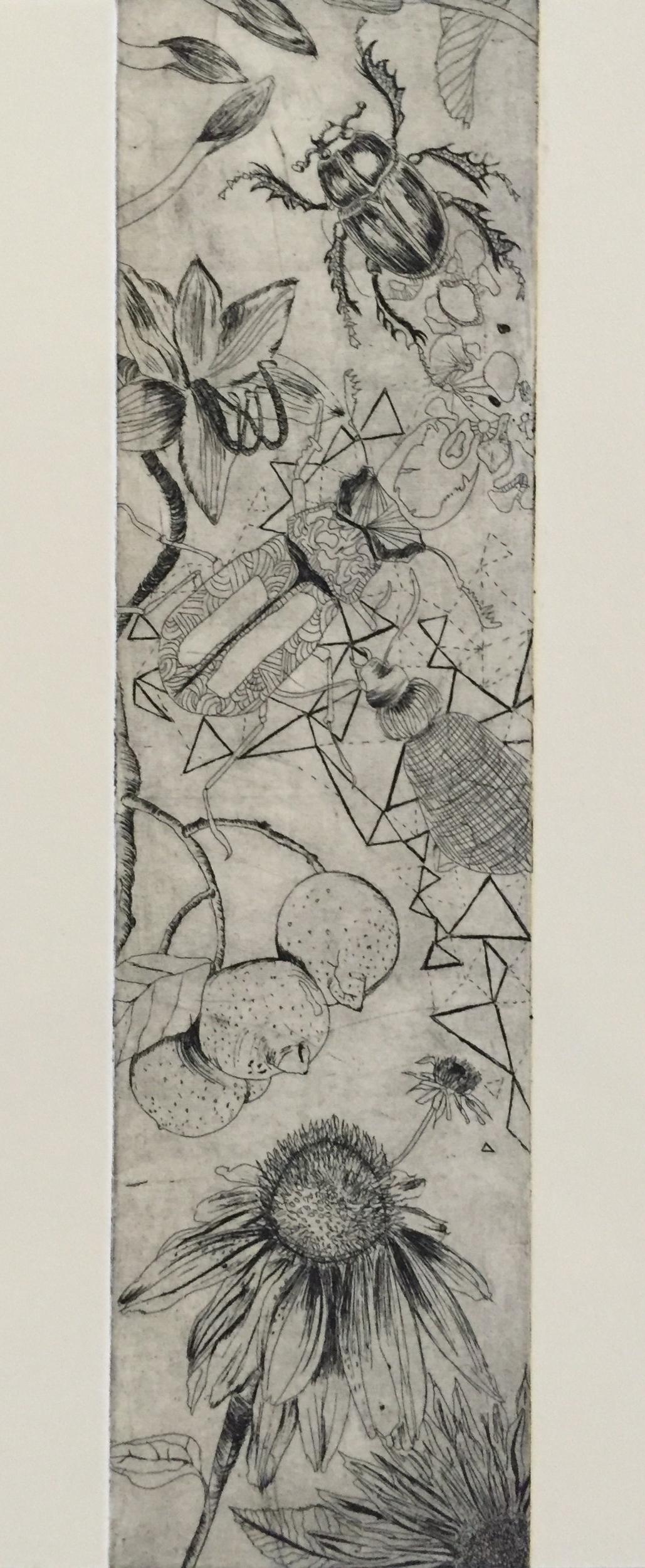 YAMATA BERNARD   For Her   etching