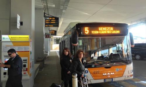 ACTV Bus #5 to Venice