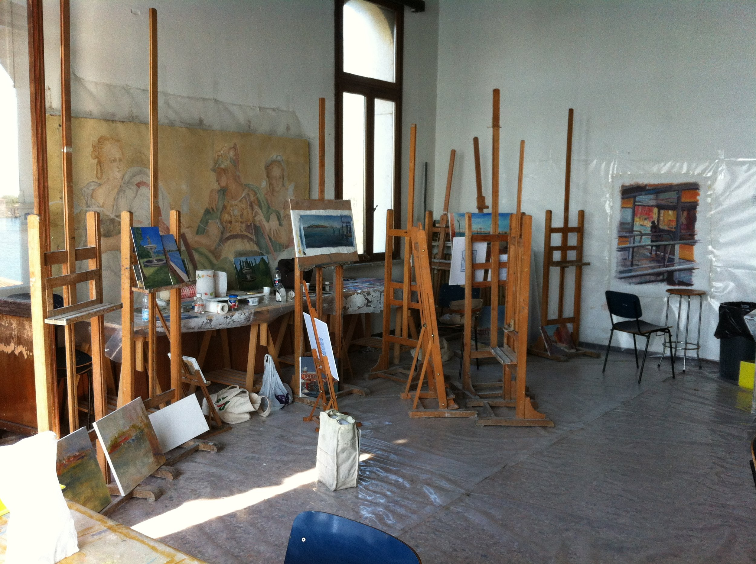Painting studio at UIA