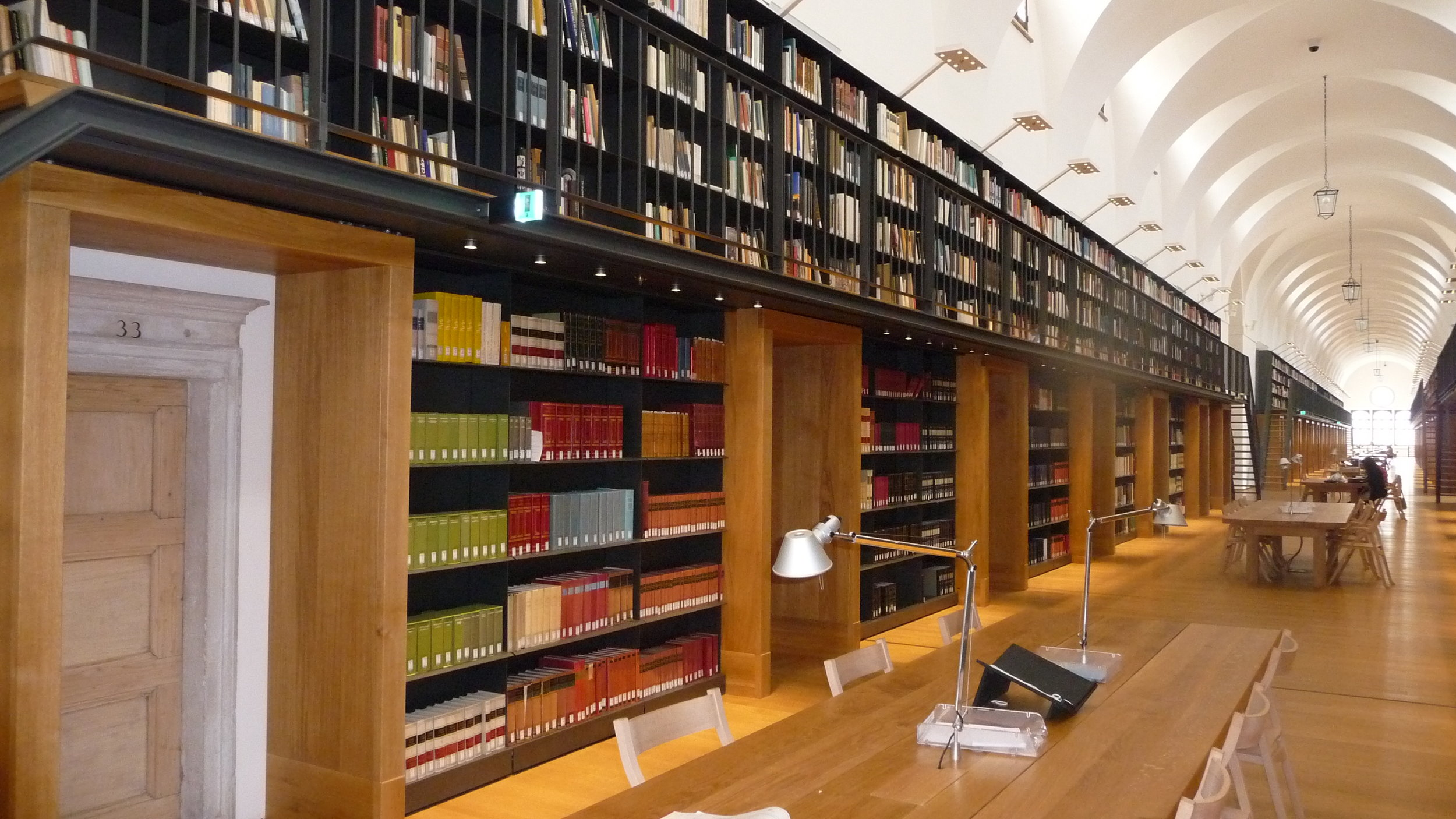 Biblioteca di Fondazione Giorgio Cini, the new section in the Manica Lunga of the Monastery