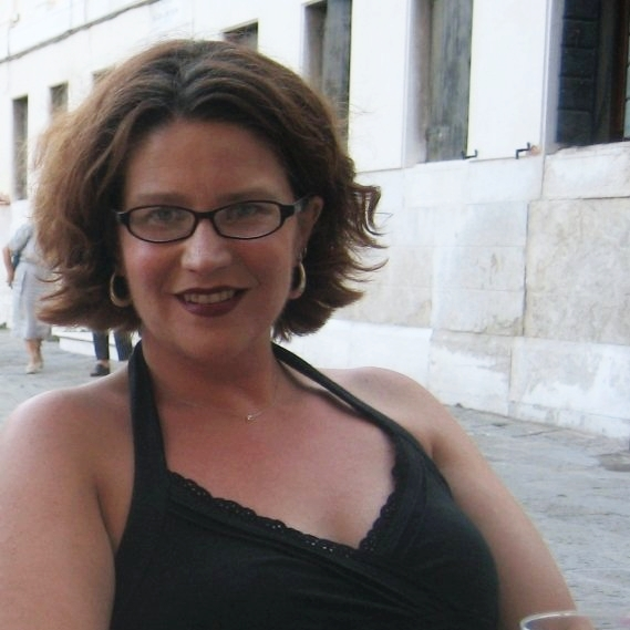 Brenwall in Venice in 2007 (photo courtesy of Cynthia Brenwall)