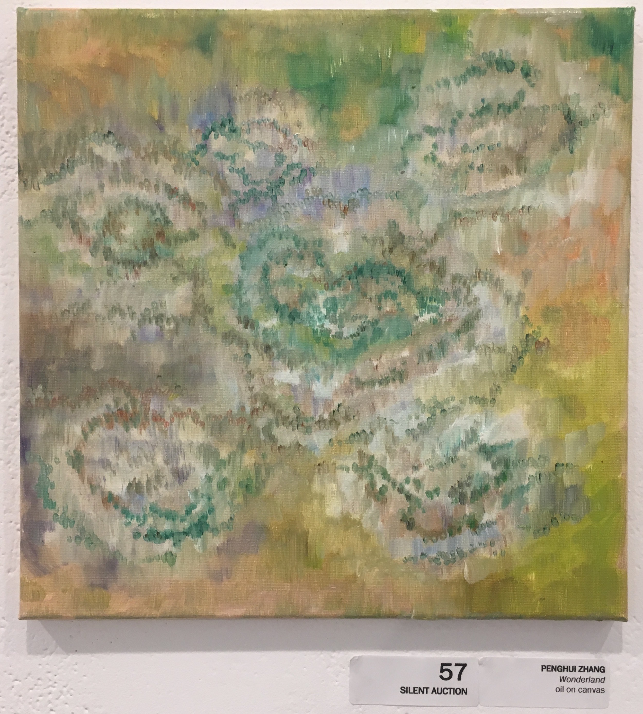 "Penghui Zhang, ""Wonderland"" (oil on canvas)"