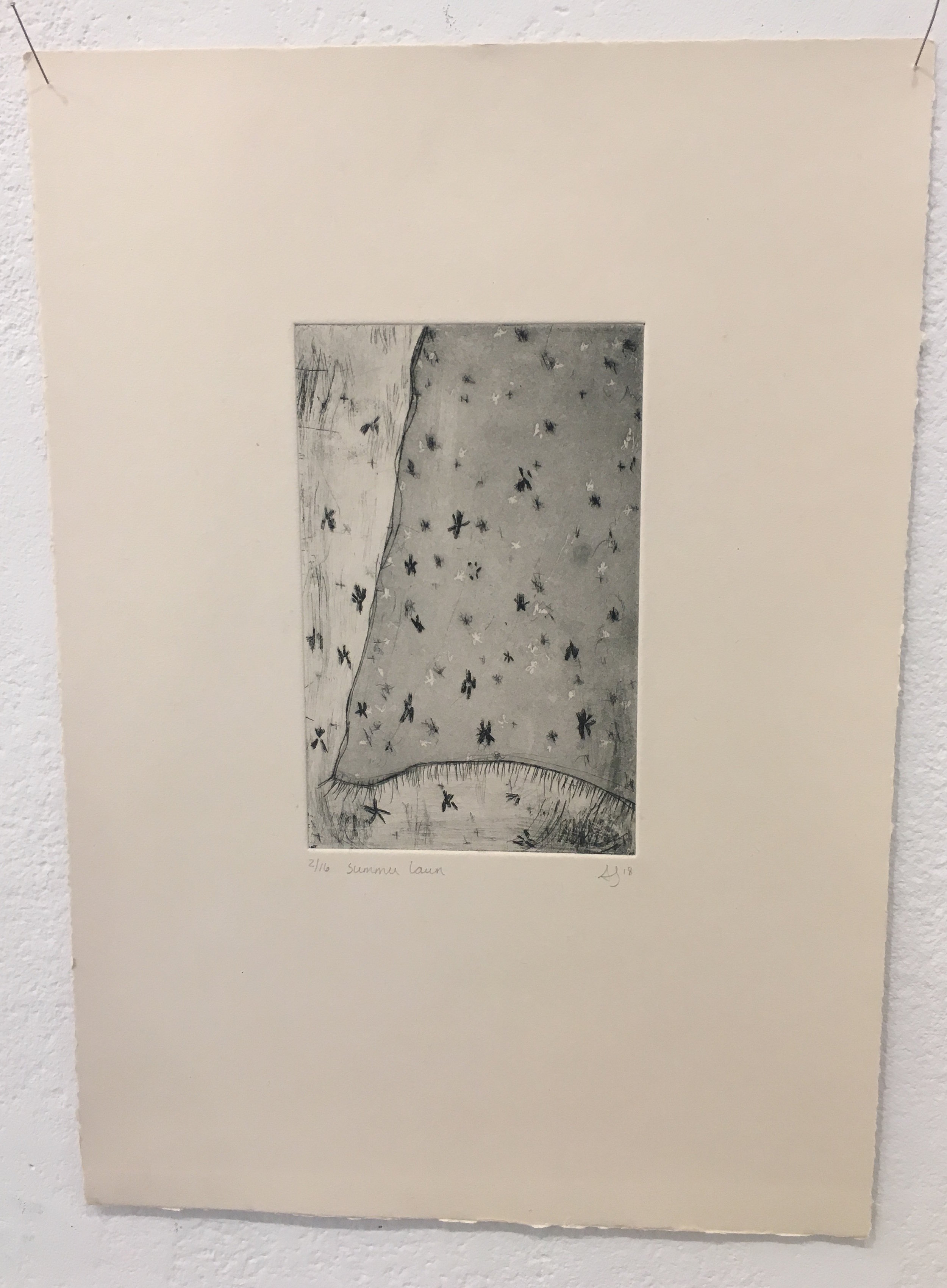 Andrea Santos, Printmaking & Drawing Instructor