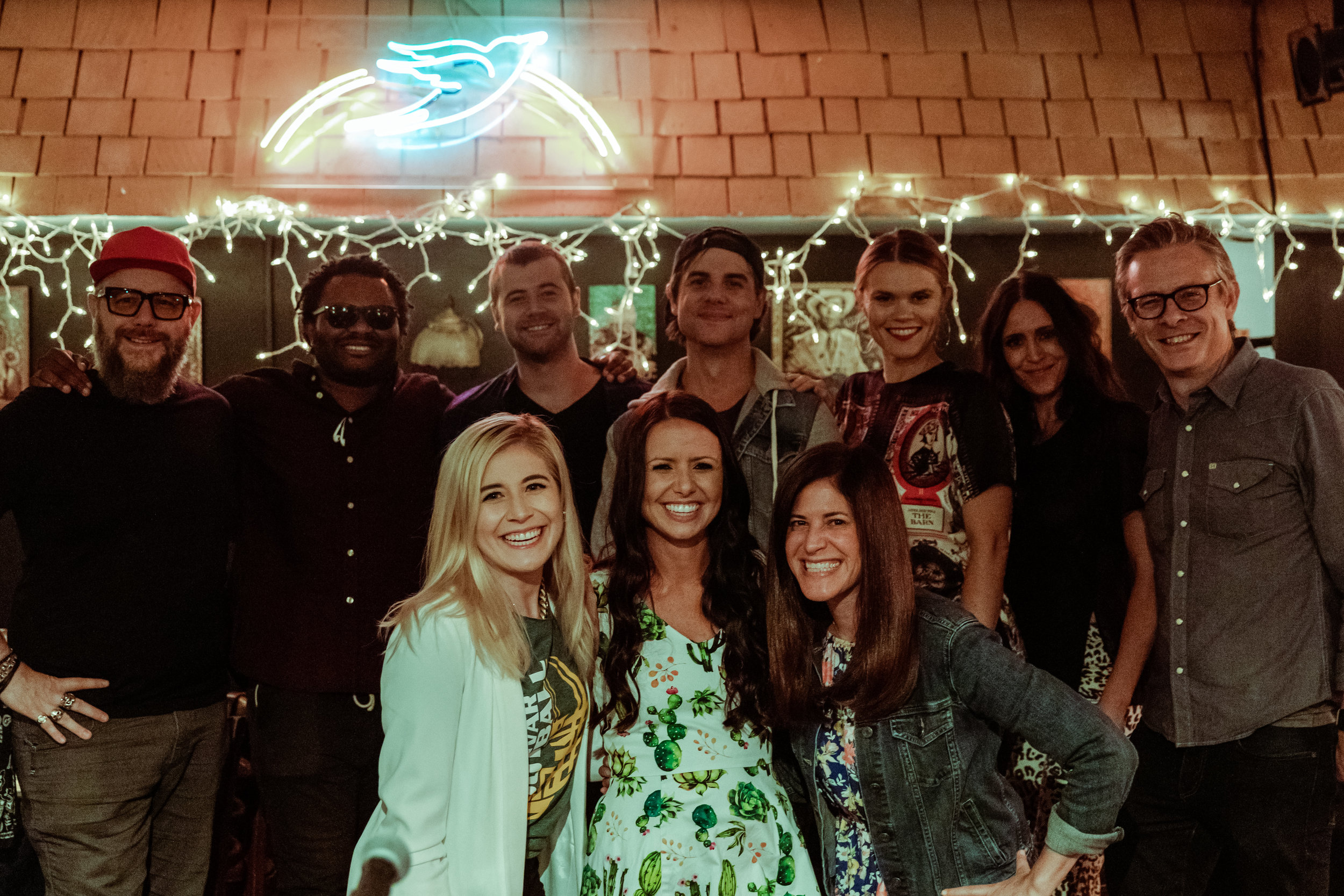 F. Reid Shippen, Blessing Offor, Jimmy Robbins, Ross Copperman, Nicolle Galyon, Kelleigh Bannen, Henry Donahue (Save the Music), Alena Moran, Rachel Malone, Danielle Zalaznick (Save the Music)