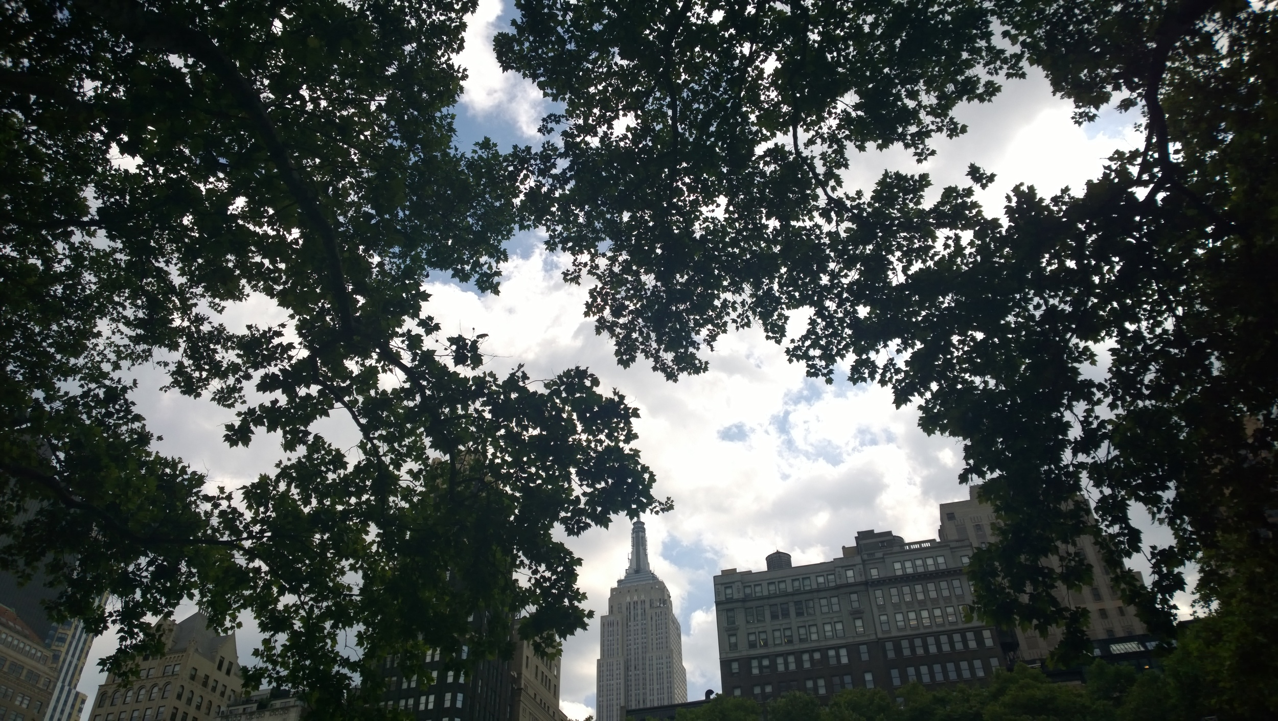 Bryant Park, New York June 2015