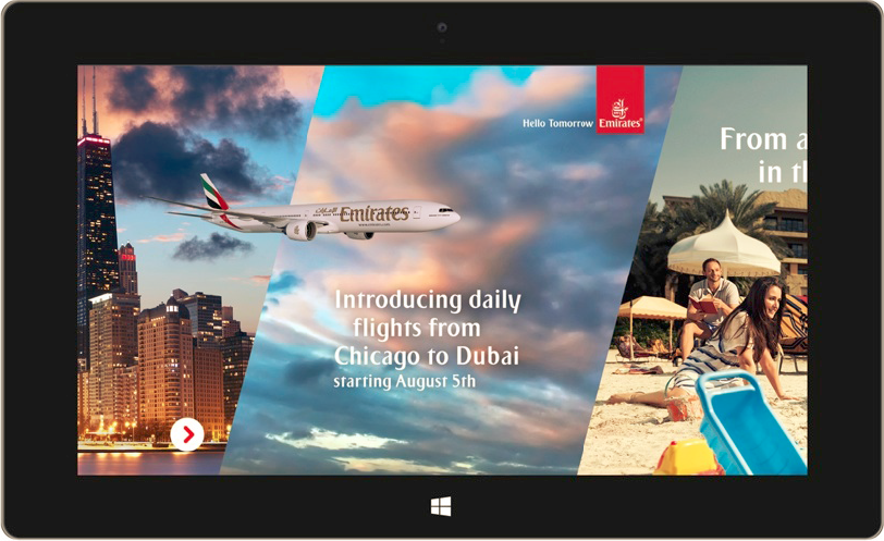 Emirates Chicago Route Launch