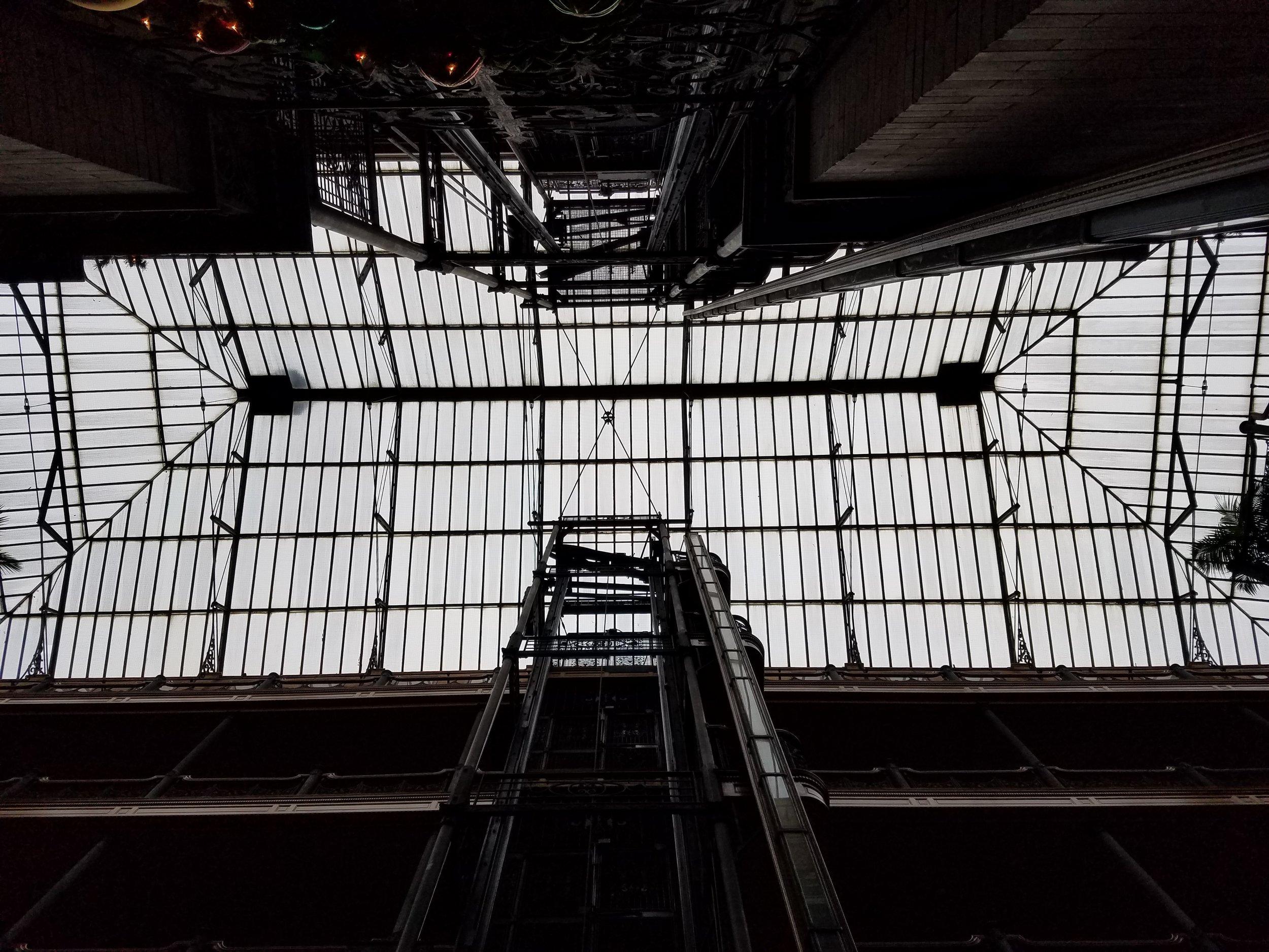 Bradbury Building, Los Angeles Dec 2016