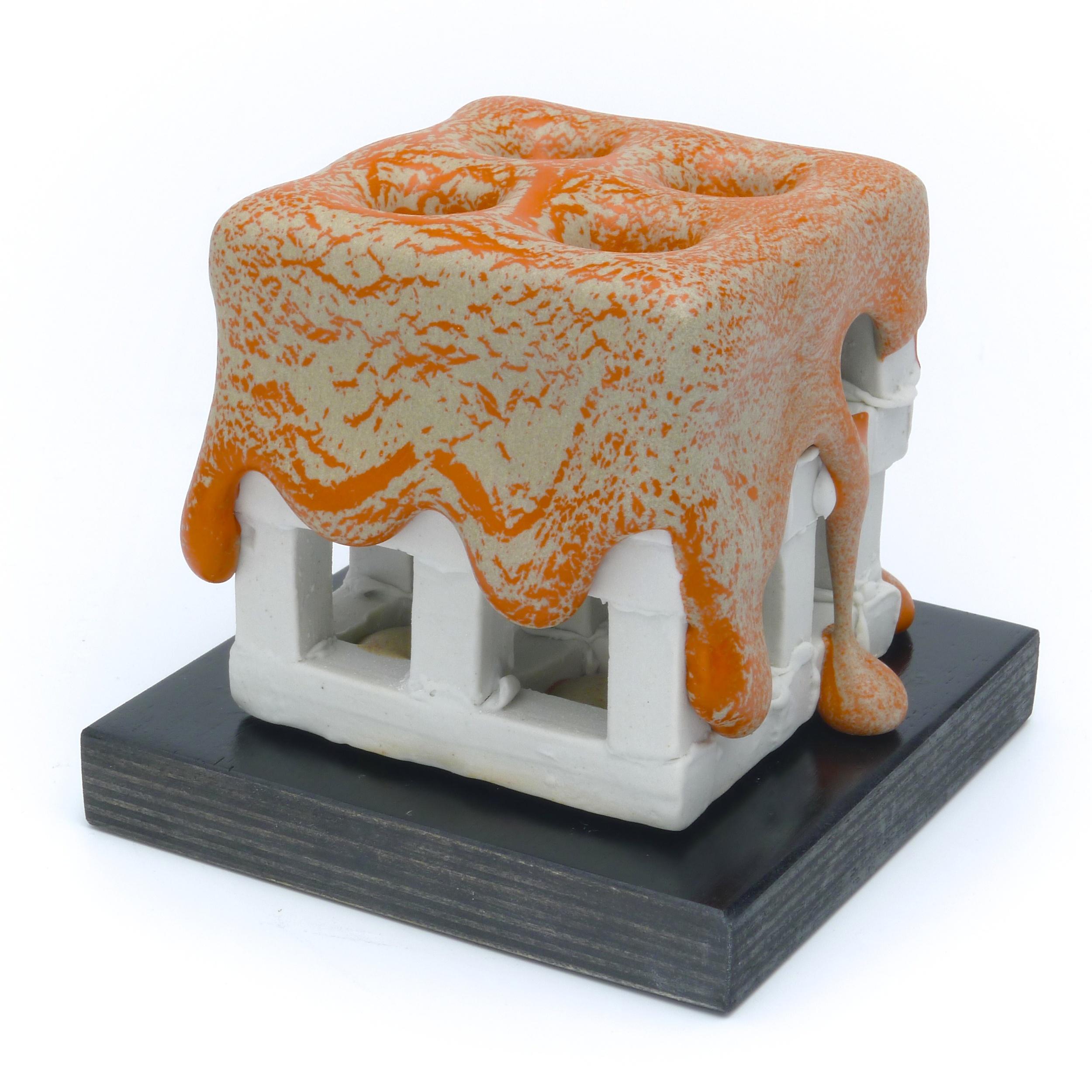 Medium Orange Cube