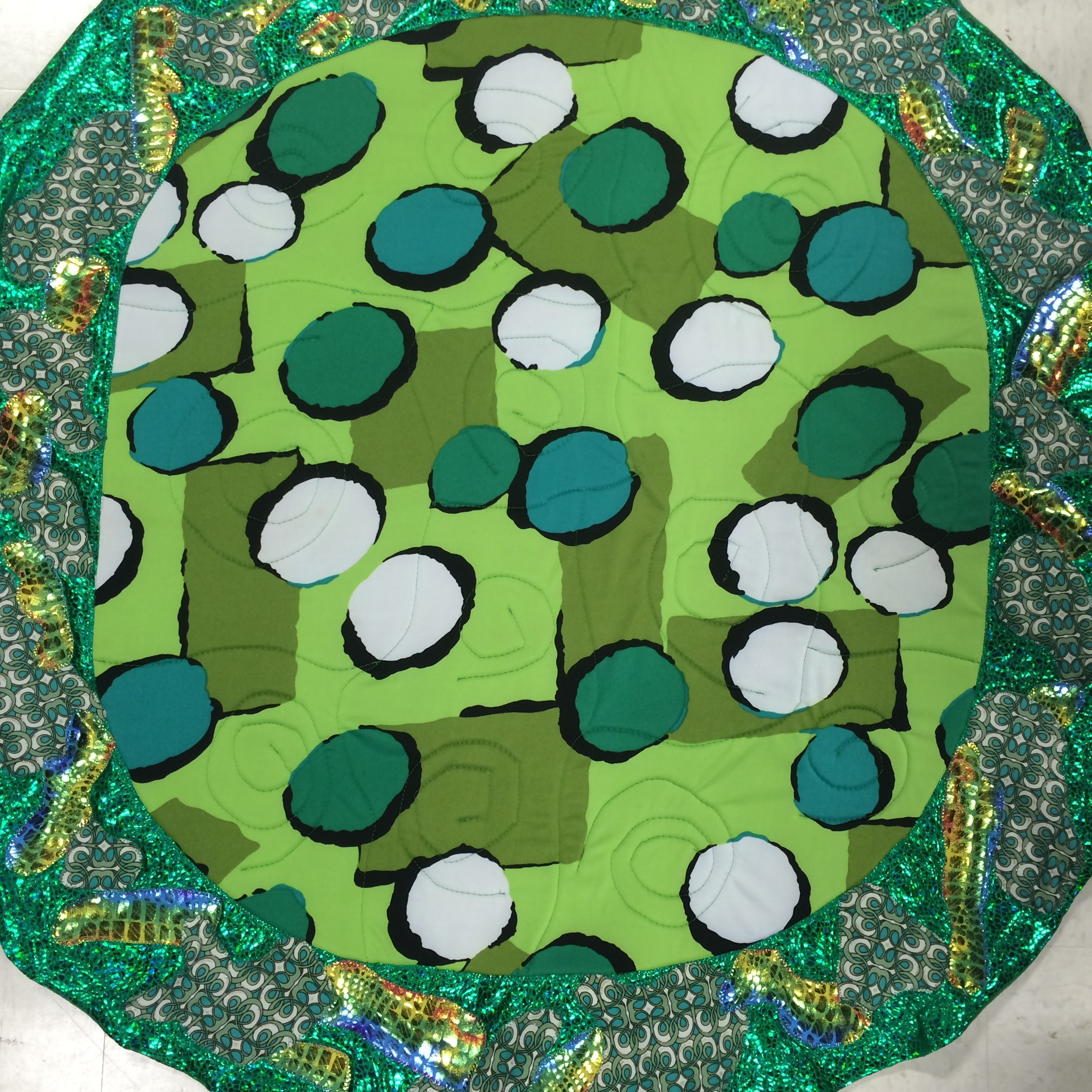 Patchwork on Turtle Shell