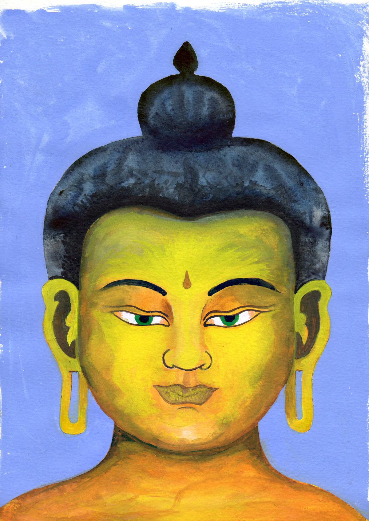 Deity of the Water God