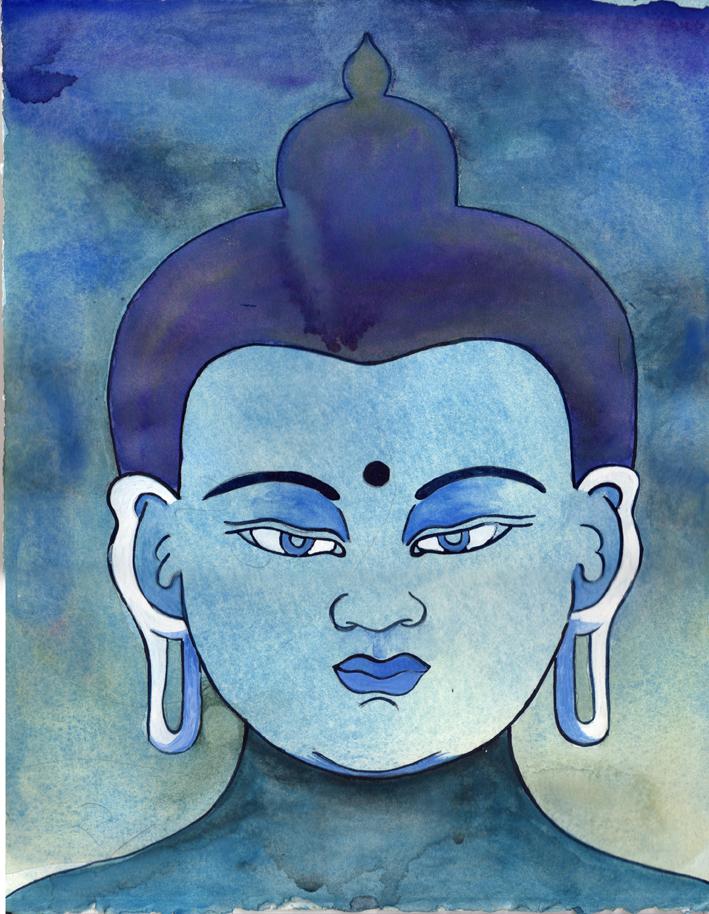 Blue Sky Buddhas: 1