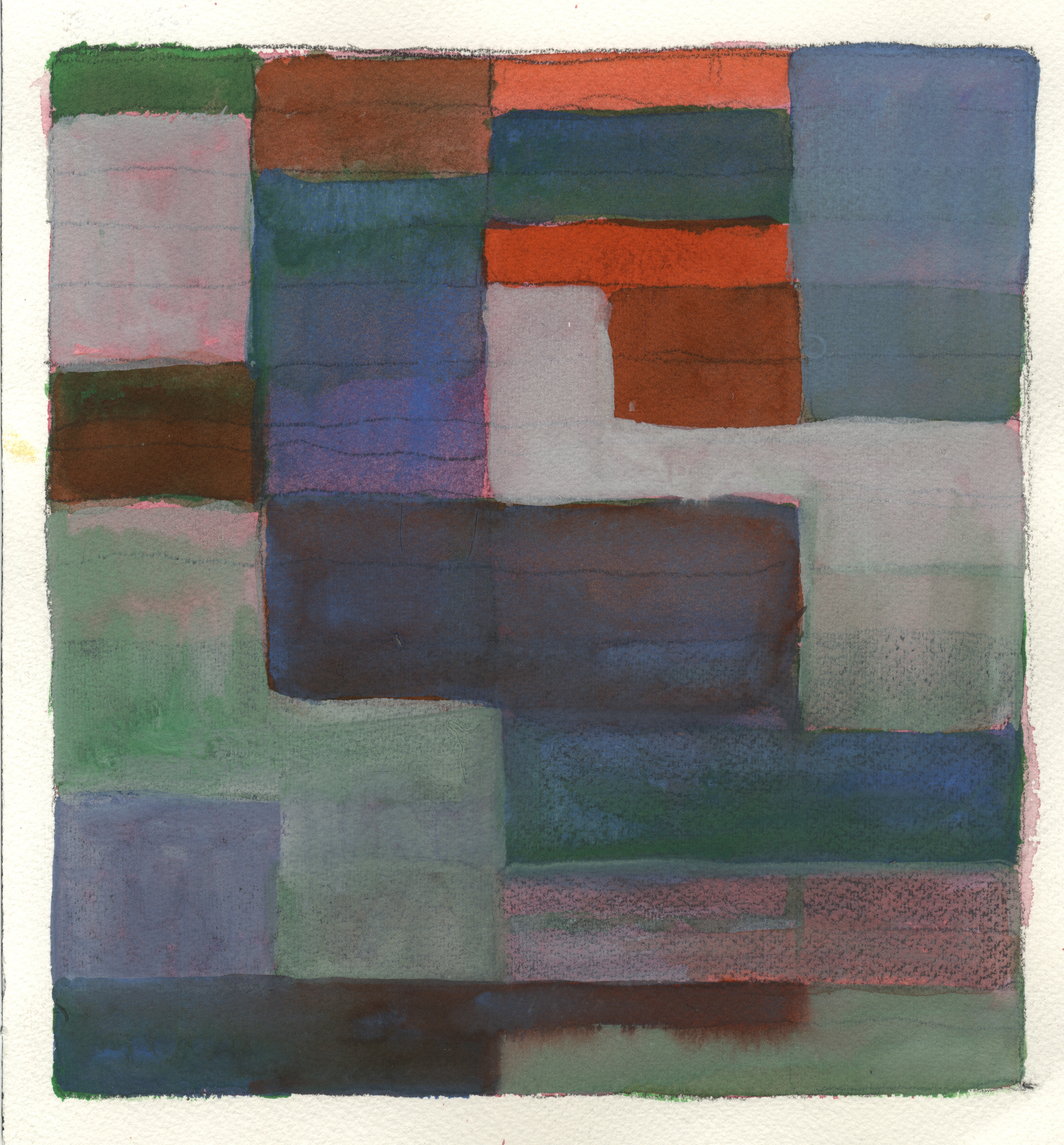 """Watercolor, graphite, and gouache on Arches !40# WC Paper 11.25"""" x 10"""" © 2010"""