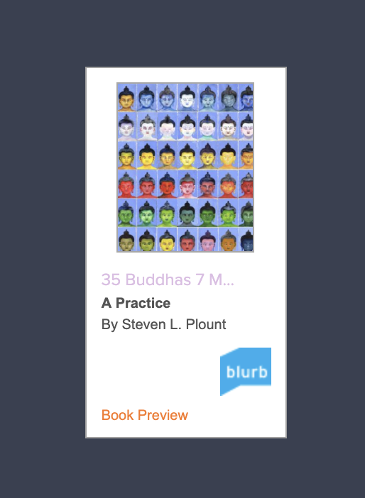 35 Buddhas - The Morning Practice in Pictures of the Buddhas and the Seven Medicine Buddhas. A memorization and visualization tool for spiritual advancement in Buddhism.