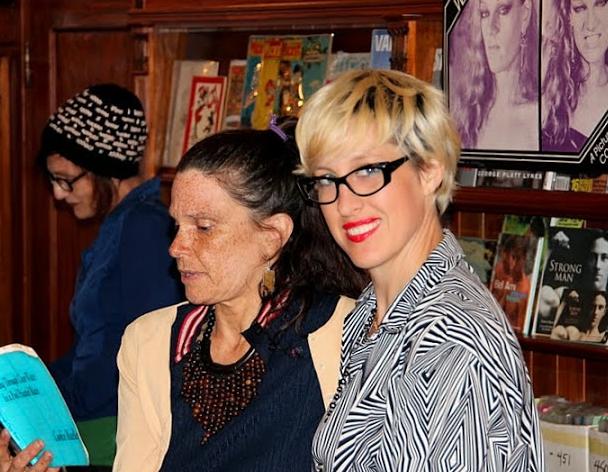 Margaret Tedesco, Mari and Chloe at the MAGAZINE (Martin Rosen)