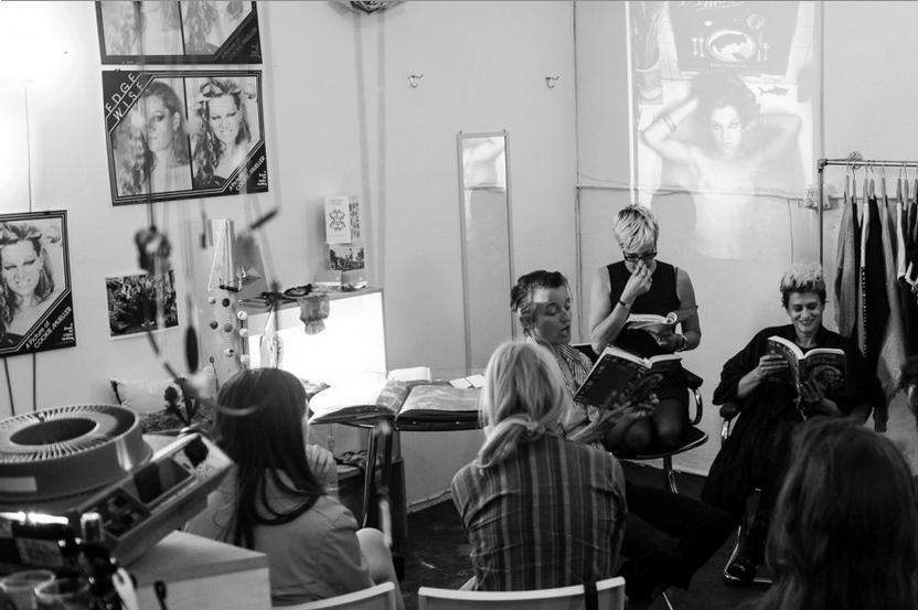 Lex Vaughn, Chloe and Peaches at OTHERWILD, LA (Bil Brown)