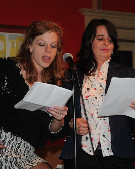 Charly Wilder and Bernadette Houde reading  EDGEWISE
