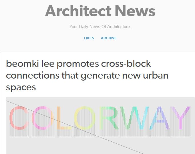 Architect News - COLORWAY