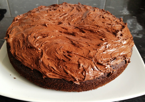 No added fat chocolate cake