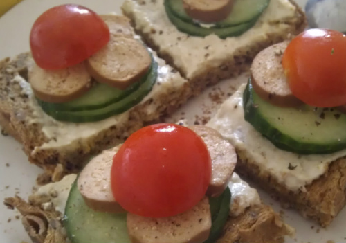 Open Top Sandwich