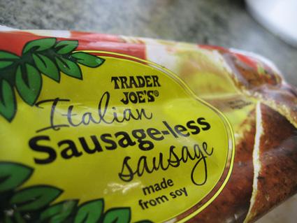 Vegan sausage