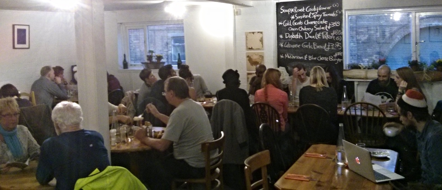 The Warehouse Café in Birmingham