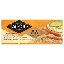 Jacob's Cream Crackers High Fibre
