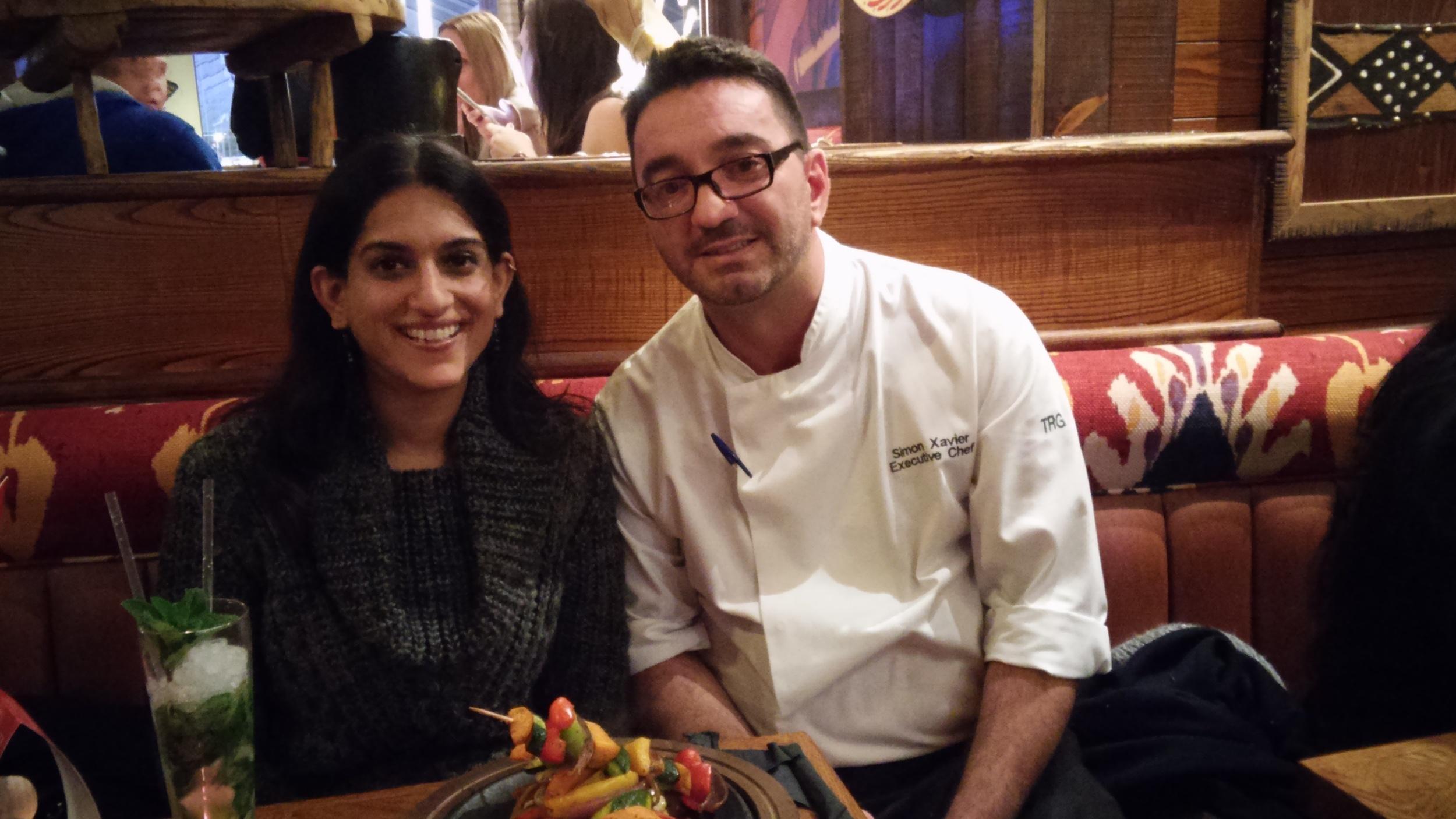 Heena Modi & Simon Xavier