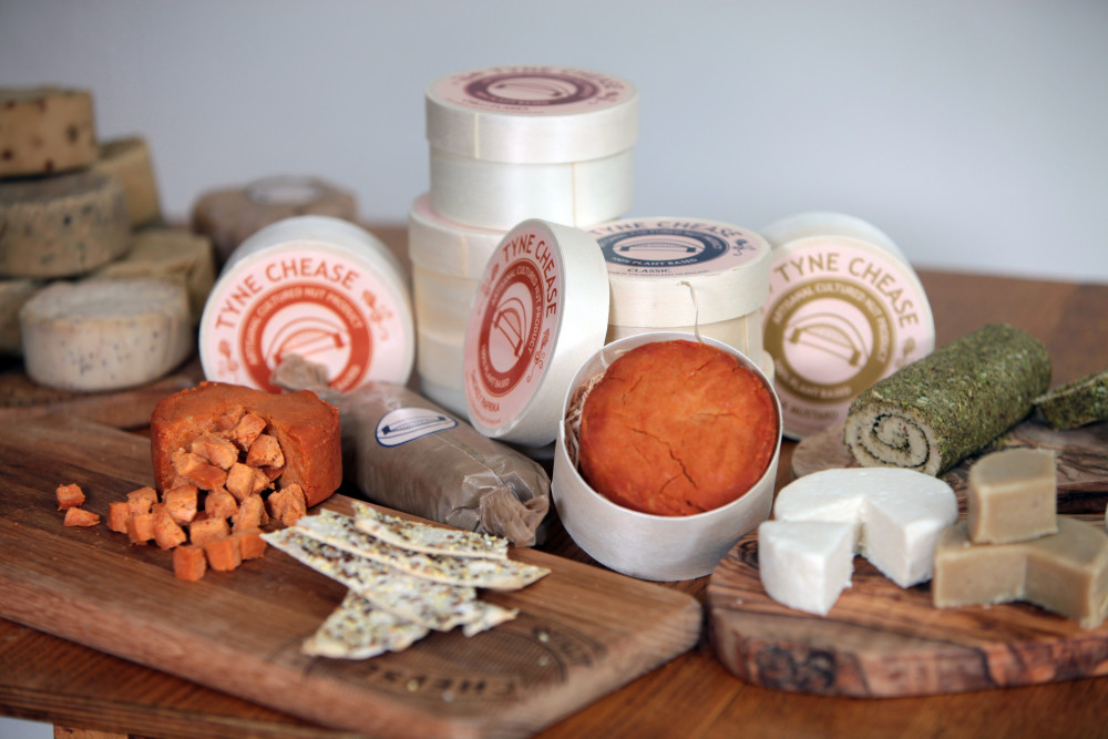 Ami Tadaa, of Heaton, Newcastle, who is launching the UK's only cashew nut cheese company for vegans called Tyne Chease