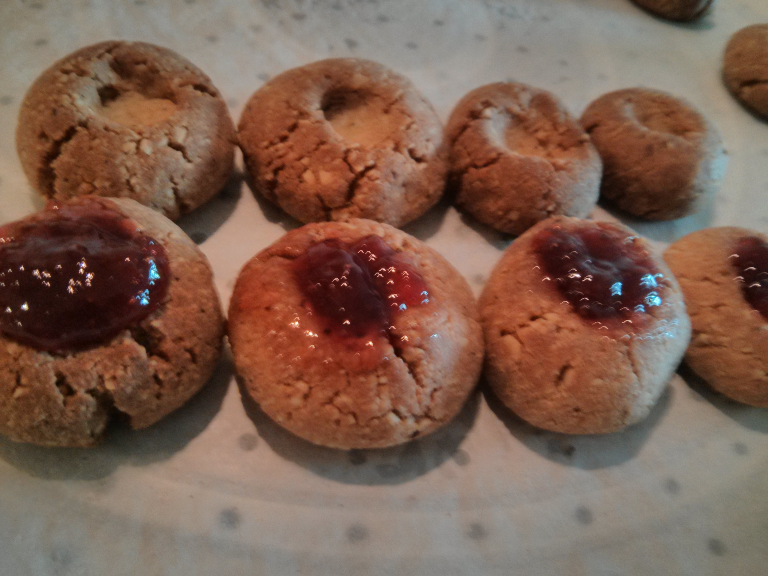 Some are filled with jam and ready to eat