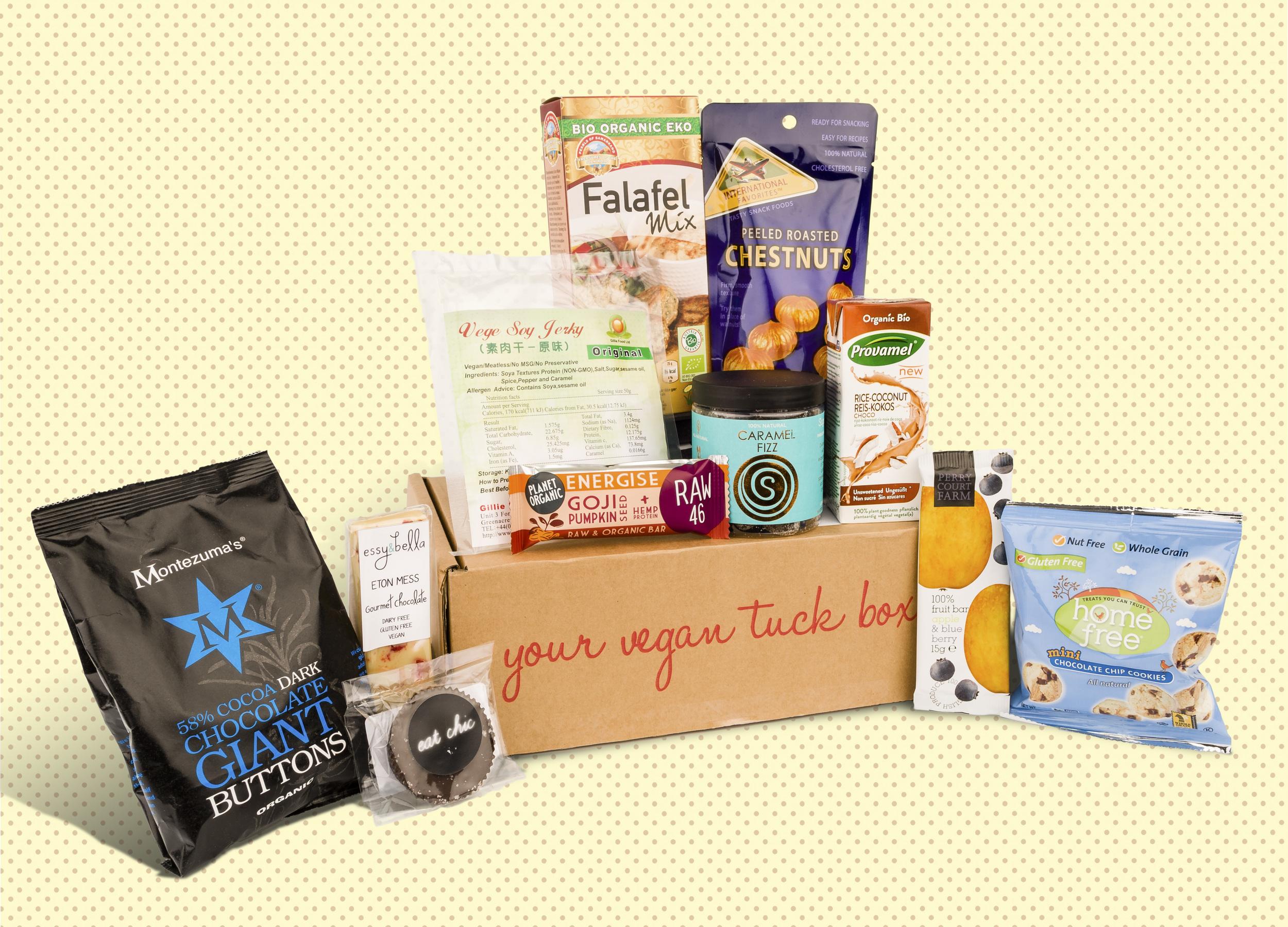 Vegan Tuck Box of July 2015