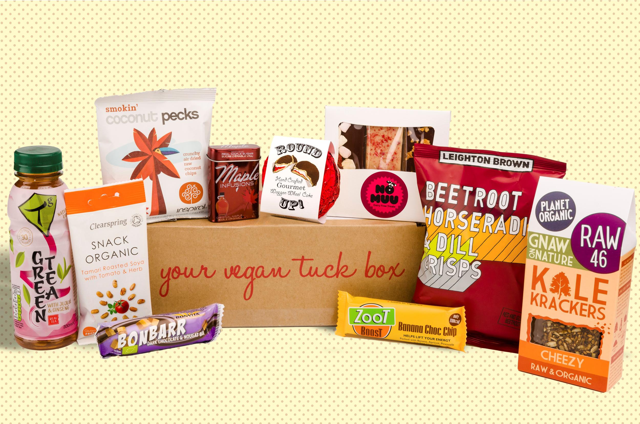 Vegan Tuck Box of September 2015