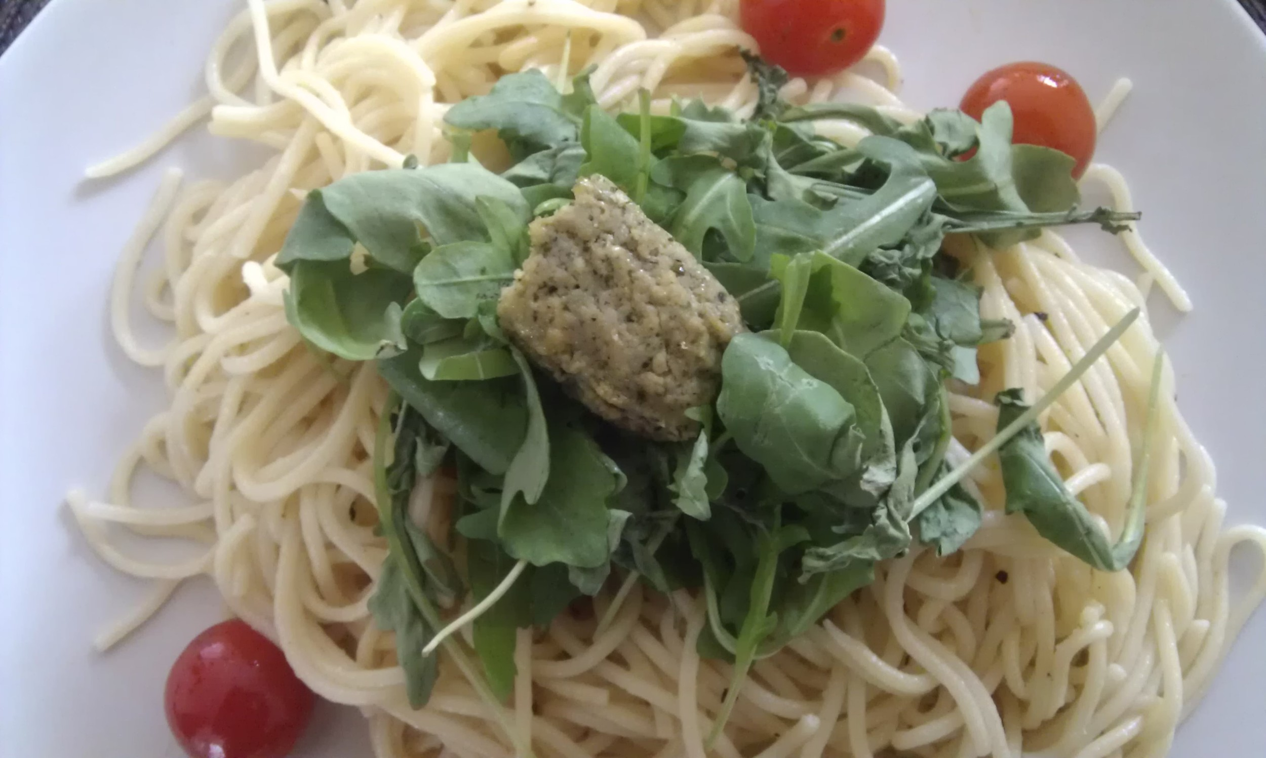 Link to recipe for simply delicious spaghetti