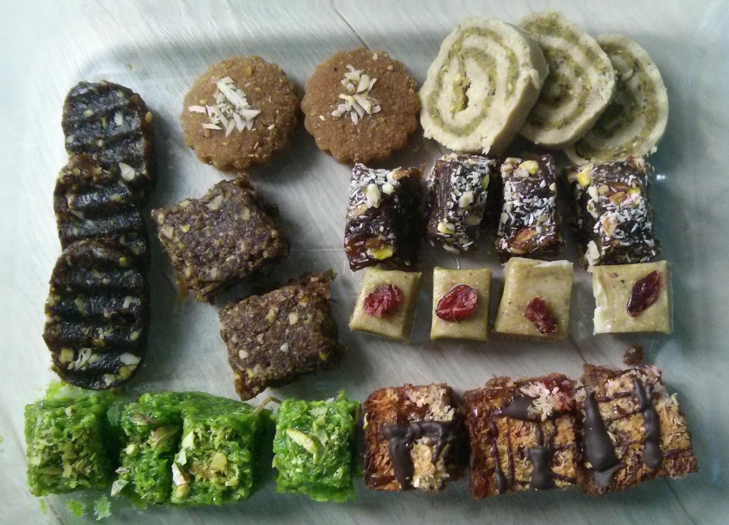 Link: Vegan and Jain Mitthai sharing event