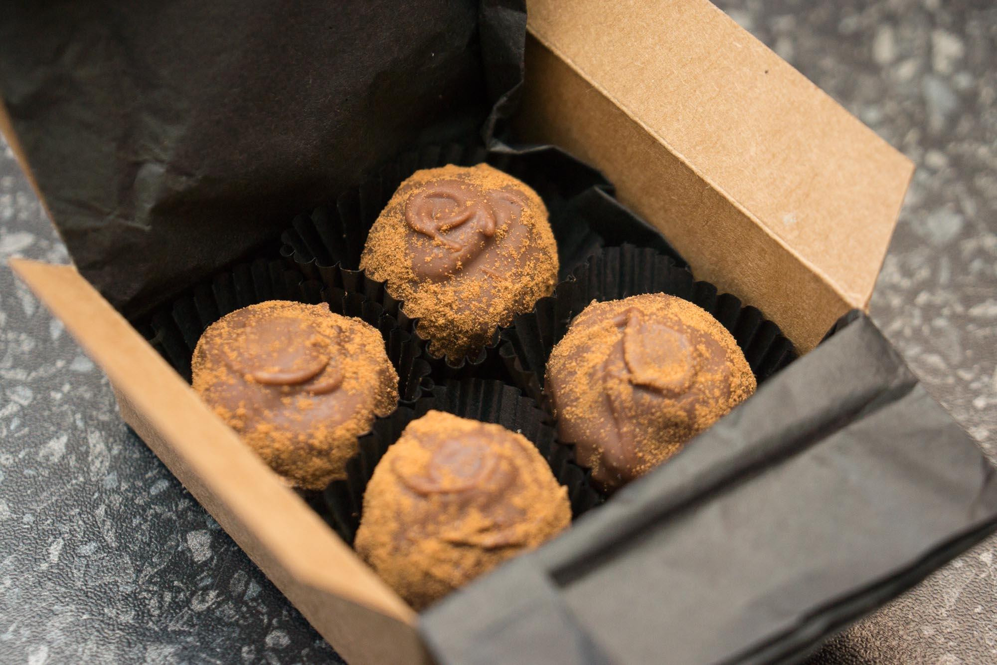 Masala chai truffle sample.JPG