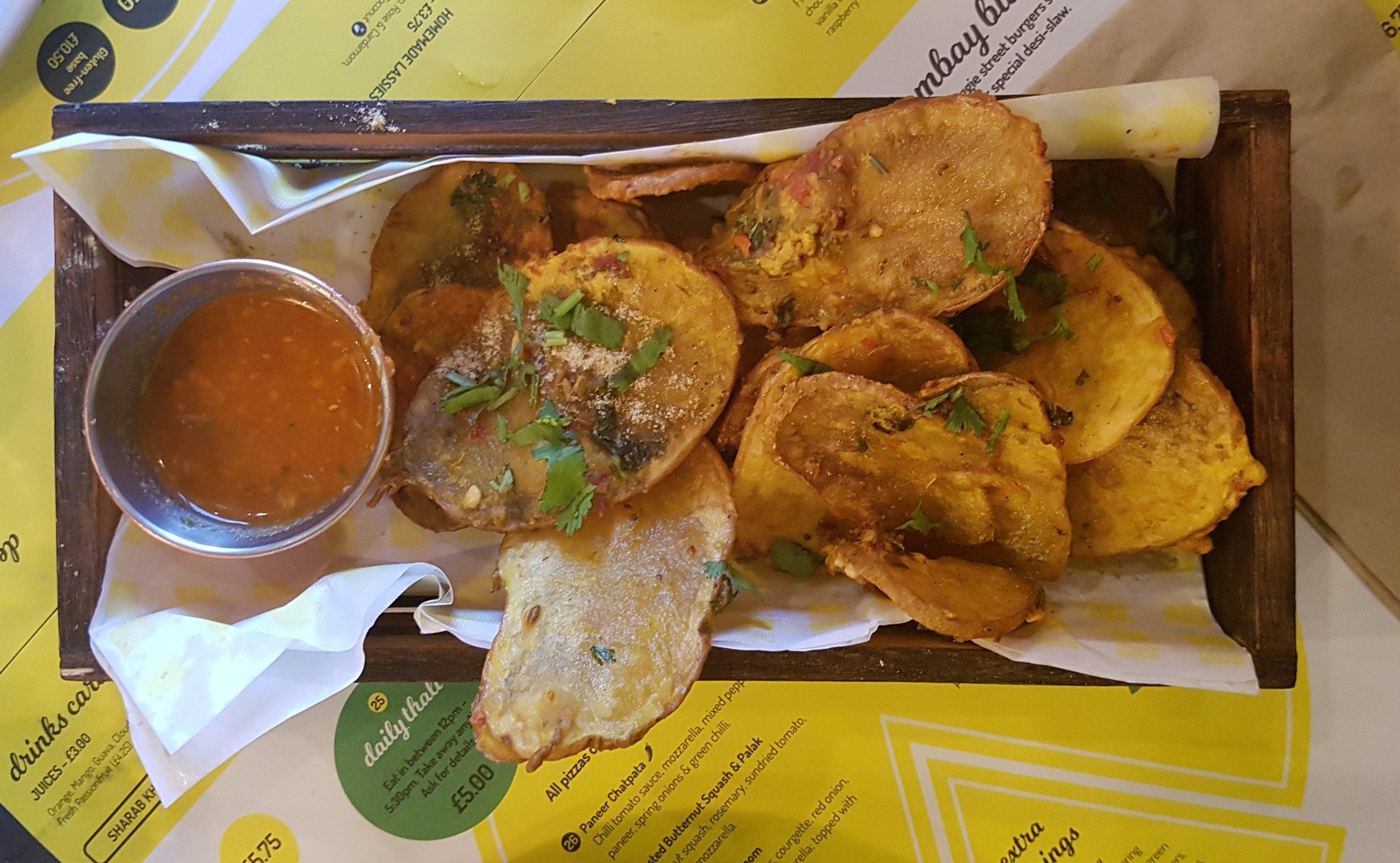 Crispy Batata Bhajia