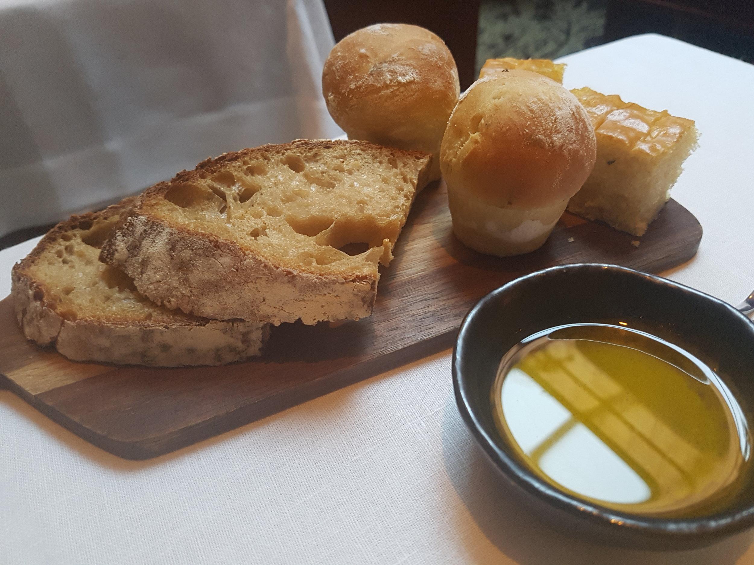 From the vegan tasting menu at Pied à Terre