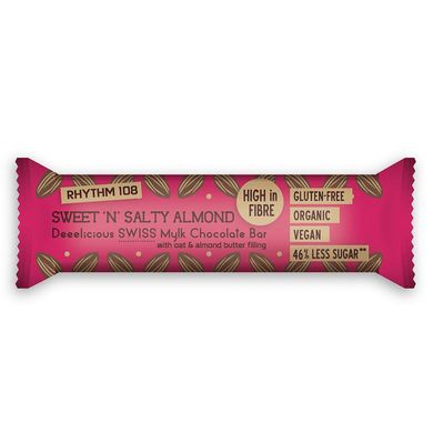 Rhythm 108 Gluten Free Sweet 'n' Salty Almond Swiss Mylk Chocolate sainsburys.jpg