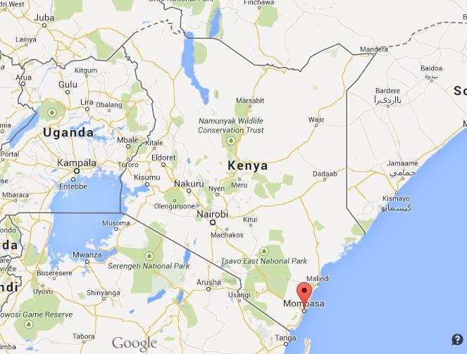Mombasa, Kenya, Africa