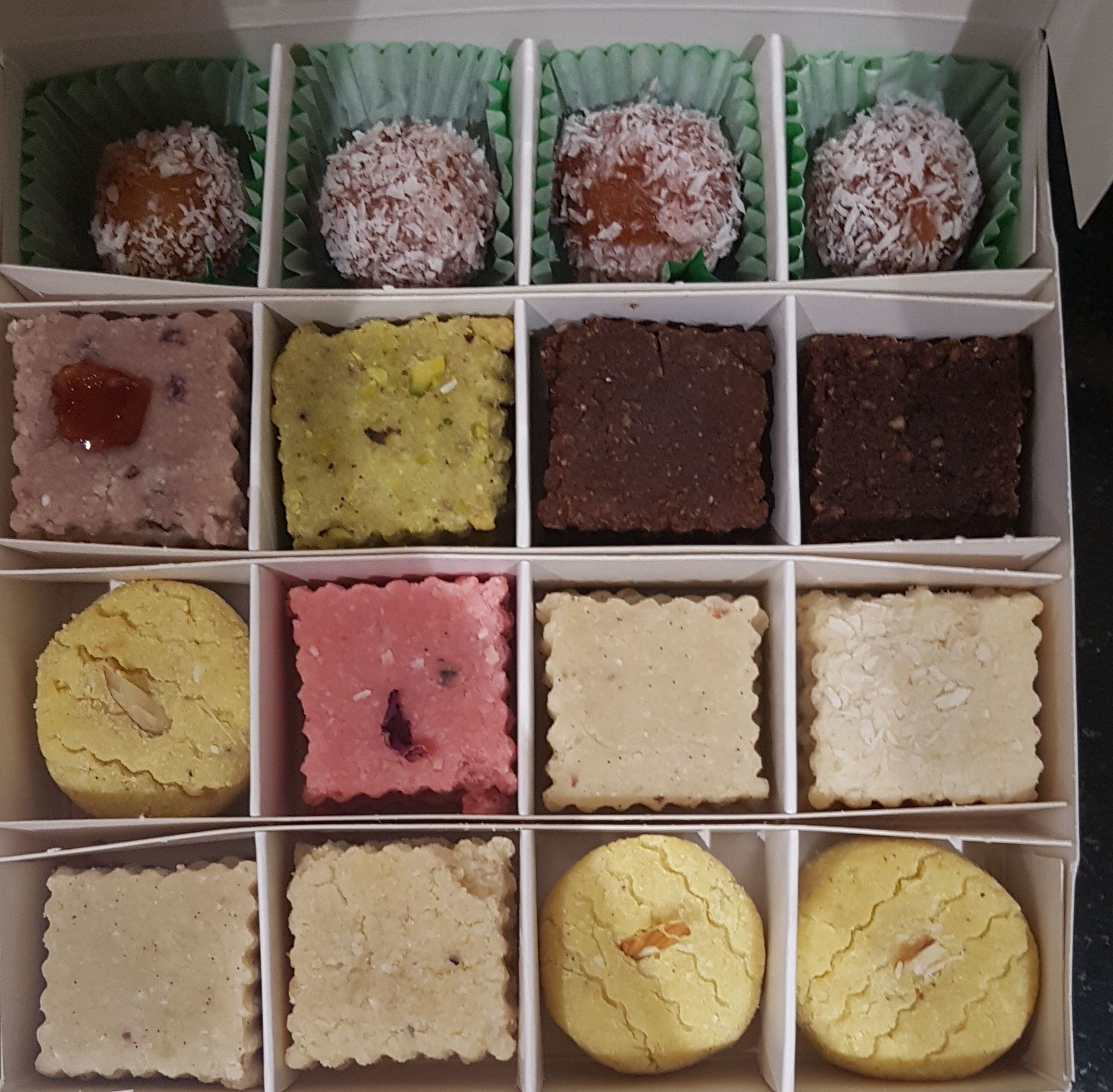 Vegan Mitthai Selection Box from Veganish