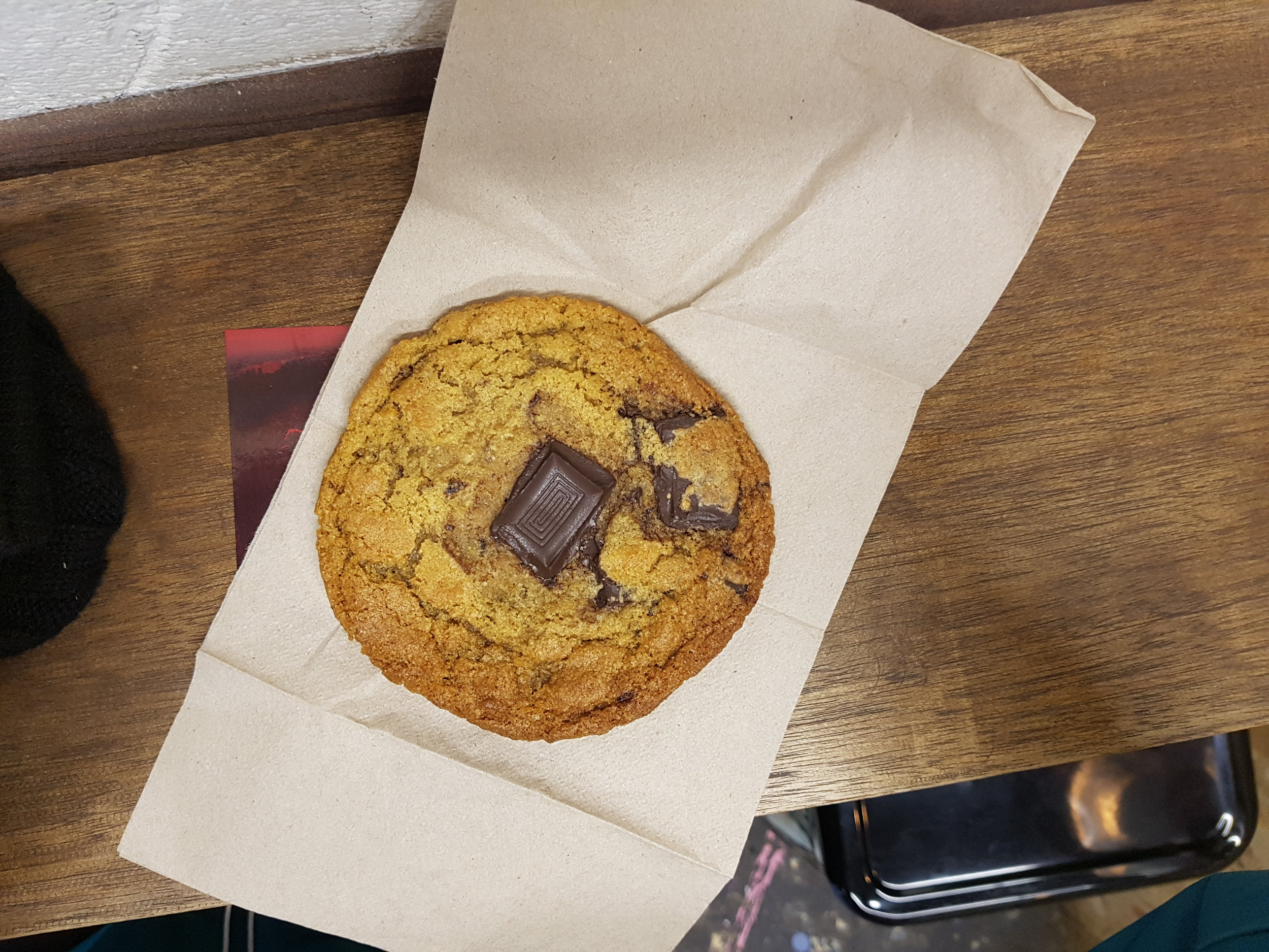 Chocolate chip cookie from Young Vegans