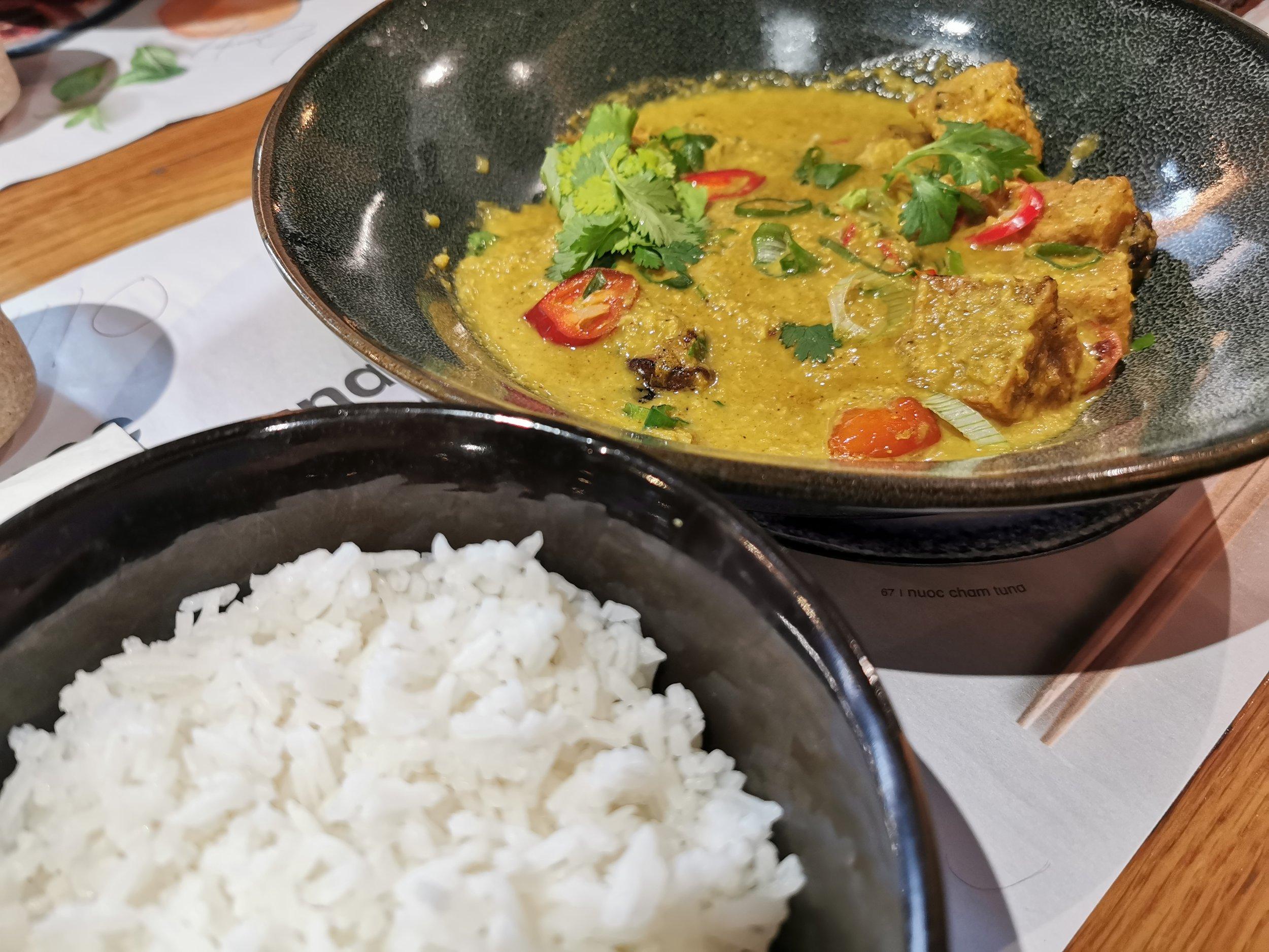 Yasai Samla Curry