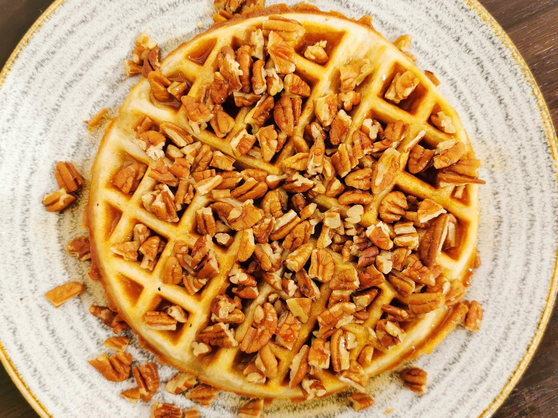 Maple Syrup and Pecan Nuts